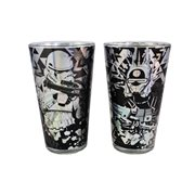 Star Wars Solo Laser Decal Glass 2-Pack Set