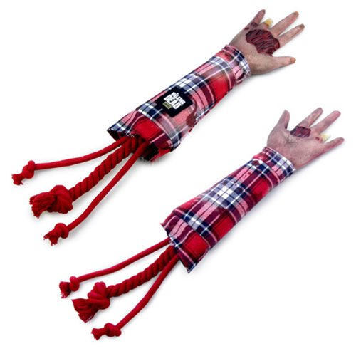 The Walking Dead Severed Walker Arm Dog Tug Toy