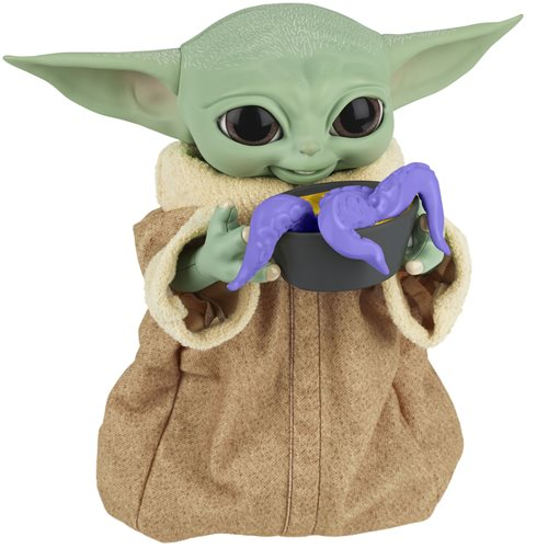 Star Wars Galactic Snackin Grogu Animatronic Toy Figure