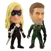 Green Arrow and Black Canary 3-Inch Titan Vinyl Figure 2-Pack - 2019 Fall Convention Exclusive