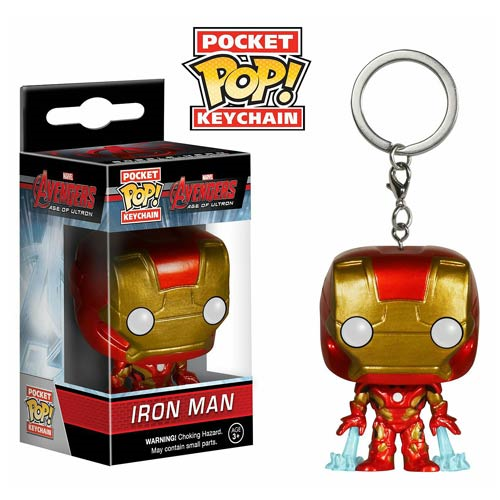 Avengers Age of Ultron Iron Man Pocket Pop! Vinyl Figure Key Chain