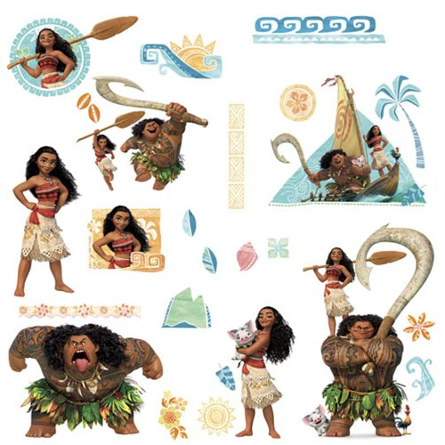 Moana Peel and Stick Wall Decals