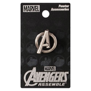 Avengers Logo Pewter Lapel Pin