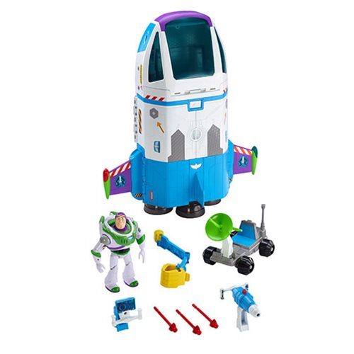 f6bf9a56a24 Toy Story 4 Buzz Lightyear s Space Command Playset - Entertainment ...