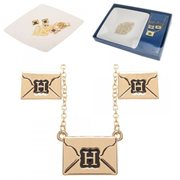 Harry Potter Hogwarts Letter Jewelry Set with Tray