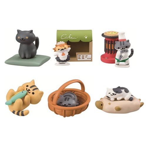 Neko Atsume Kitty Collector Blind Box Mini-Figures 3-Pack
