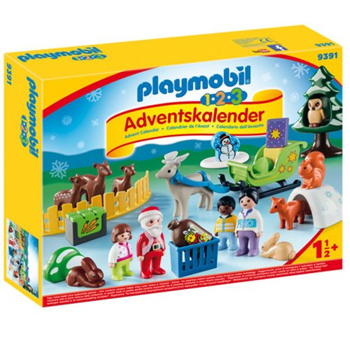 Playmobil 9391 1.2.3 Christmas in the Forest Advent Calendar