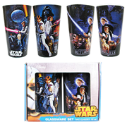 Star Wars Cast Action 16 oz. Pint Glass 2-Pack