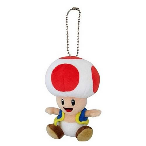 Super Mario Bros. Toad Mascot Plush