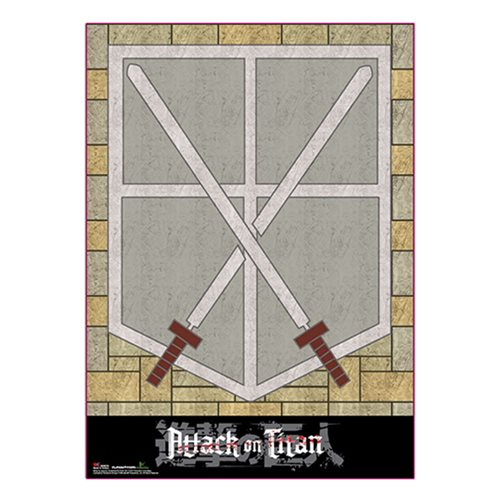Attack on Titan Cadet Corps Wall Scroll