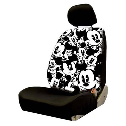 Mickey Mouse Expressions Low Back Seat Cover
