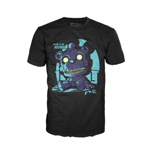 Five Nights at Freddy's Nightmare Freddy Sitting Pop! T-Shirt