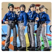 The Monkees 8-Inch Blue Band Suits Retro Action Figures Set