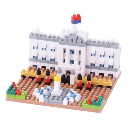 Buckingham Palace Nanoblock Constructible Figure