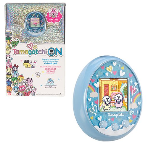 Tamagotchi On Fairy Blue Electronic Game