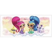 Shimmer and Shine Burst Peel and Stick Giant Wall Decals