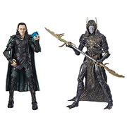 Marvel Legends 80th Anniversary Loki vs. Corvus Glaive 6-Inch Action Figures