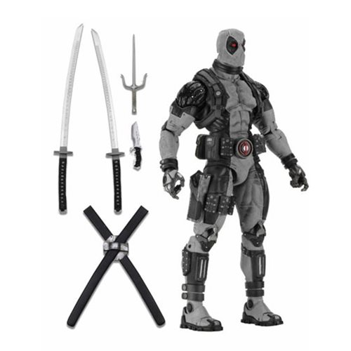 Marvel Classics X-Force Deadpool 1:4 Scale Action Figure, Not Mint