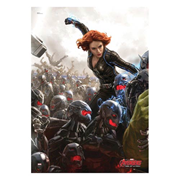 Avengers: Age of Ultron Black Widow MightyPrint Wall Art Print