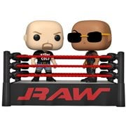 WWE The Rock Vs. Stone Cold Steve Austin in Wrestling Ring Pop! Vinyl Moment