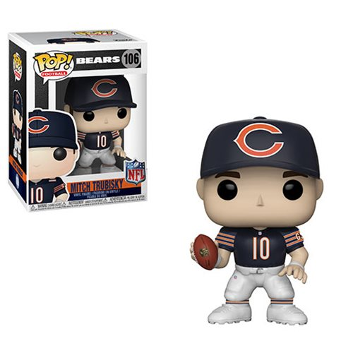 NFL Mitch Trubisky Bears Pop! Vinyl Figure #106