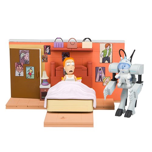 Rick and Morty You Shall Now Call Me Snowball Medium Construction Set
