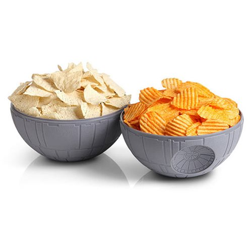 Star Wars Death Star Chip and Dip Bowl