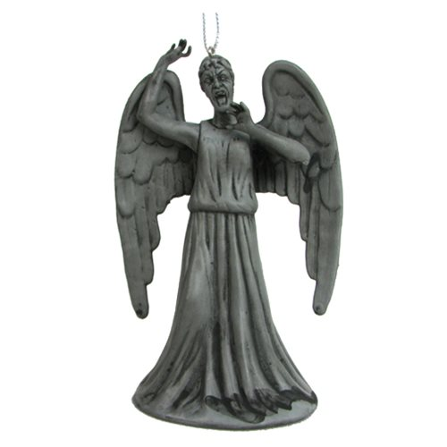 Doctor Who Weeping Angel 3 1/2-Inch Figural Ornament