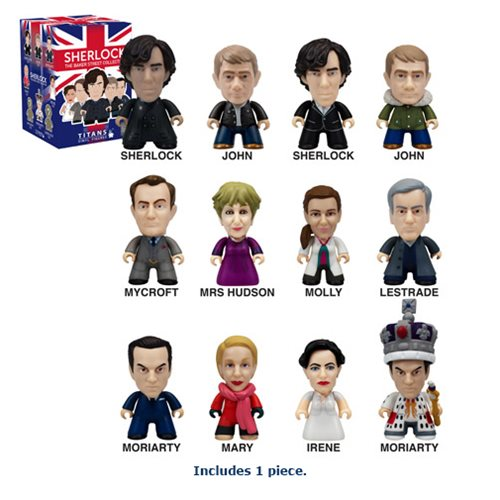 Sherlock Titans 221B Baker Street Collection Random Mini-Figure