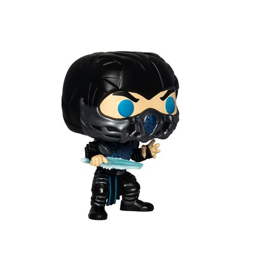 Mortal Kombat 2021 Sub-Zero Glow-in-the-Dark Pop! Vinyl Figure - Entertainment Earth Exclusive