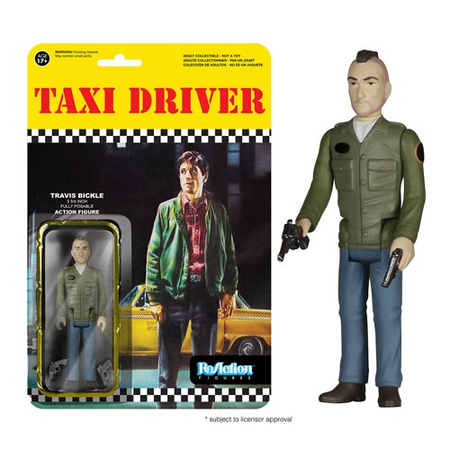 Taxi Driver Travis Bickle ReAction 3 3/4-Inch Retro Action Figure