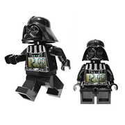 LEGO Star Wars Darth Vader Minifigure Clock, Not Mint