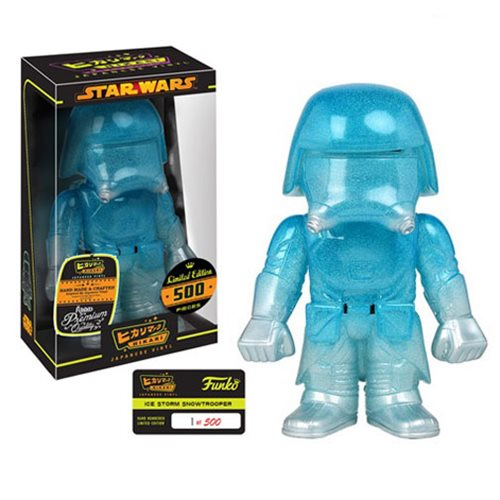 Star Wars Ice Storm First Order Snowtrooper Hikari Sofubi Vinyl Figure, Not Mint