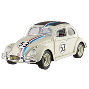 Herbie the Love Bug 1962 Volkswagen Bug Hot Wheels Elite 1:18 Scale Die-Cast Vehicle