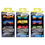 Nerf Nitro Foam Car 3-Pack Wave 3 Case