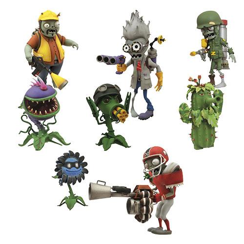 Plants Vs Zombies Garden Warfare Action Figure 2 Pack Set