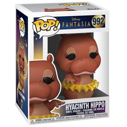 Disney Fantasia 80th Anniversary Hyacinth Hippo Pop! Vinyl Figure