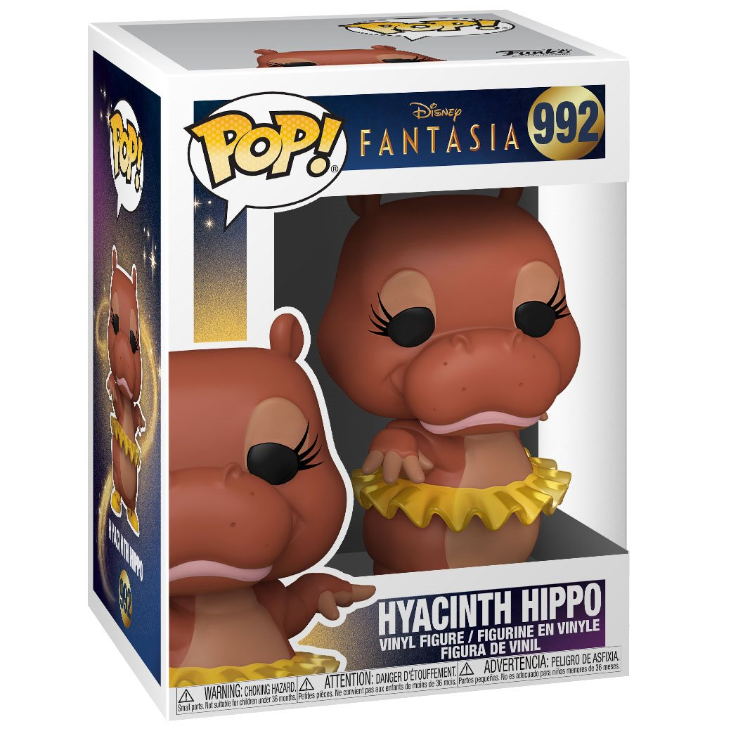 Pop Disney Funko Multicolor 51937 Fantasia 80th-Hyacinnth Hippo Figura Coleccionable
