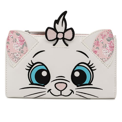 The Aristocats Marie Floral Flap Wallet