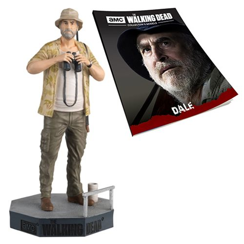 The Walking Dead Dale Figure with Collector Magazine #28