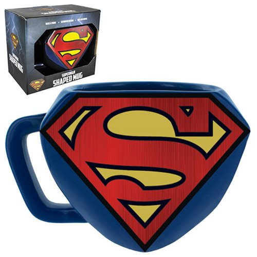 Superman Shaped Mug, Not Mint