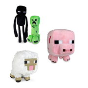 Minecraft Character Plush Case