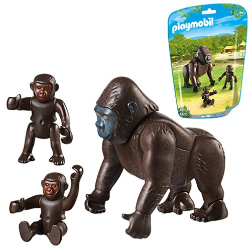 Playmobil 6639 Gorilla with Babies