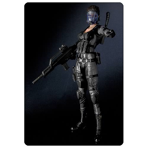 Resident Evil Raccoon City Lupo Play Arts Kai Action Figure