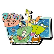 Rocko's Modern Life Group Funky Chunky Magnet