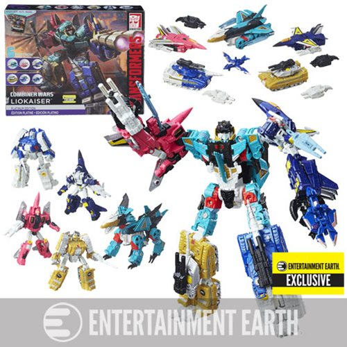 Transformers Generations Platinum Edition Combiner Wars Liokaiser - Entertainment Earth Exclusive