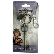 Kingdom Hearts Sora's Sword Pewter Key Chain