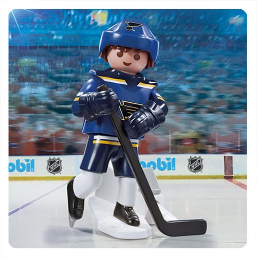 Playmobil 9184 NHL St. Louis Blues Player Action Figure