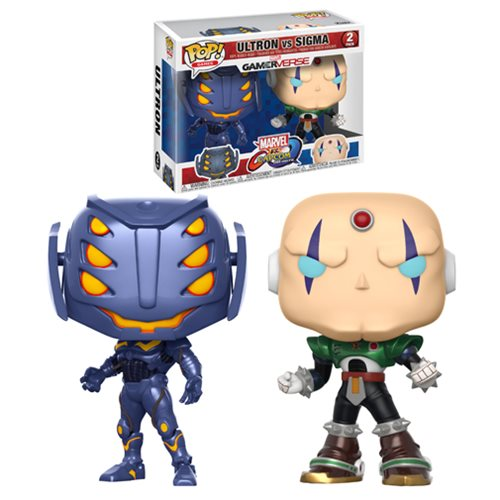 Marvel Vs Capcom Ultron Vs Sigma Pop! Vinyl 2-Pack