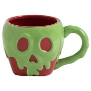 Snow White Poison Apple Sculpted Ceramic Mug